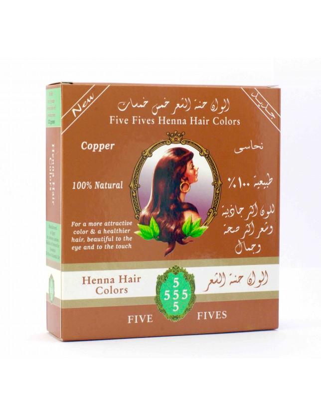 Henna Five Fives měděná 100g
