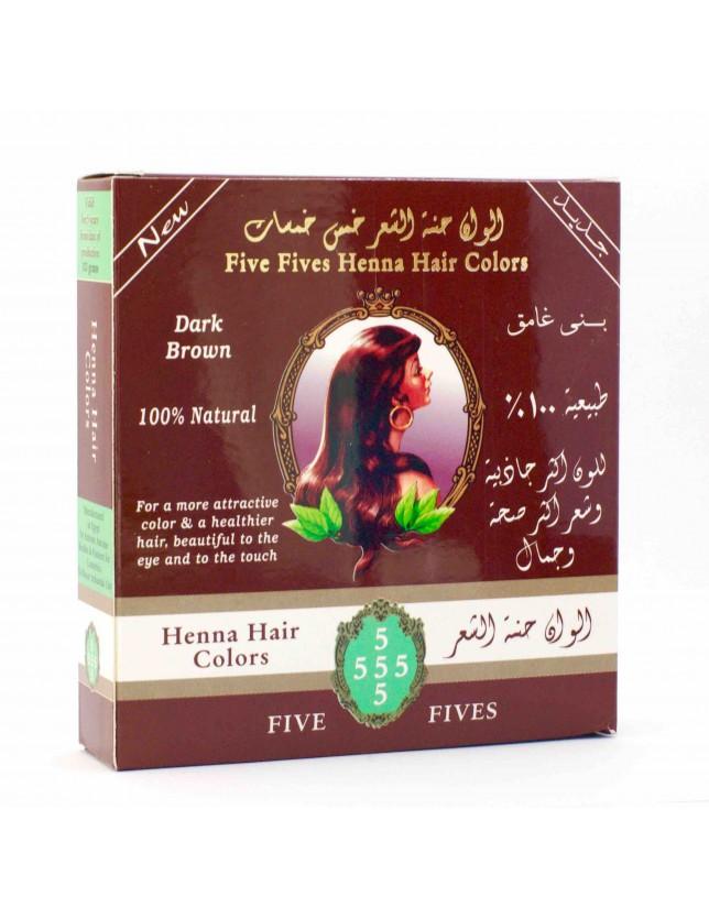 Henna Five Fives tmavě hnědá 100g