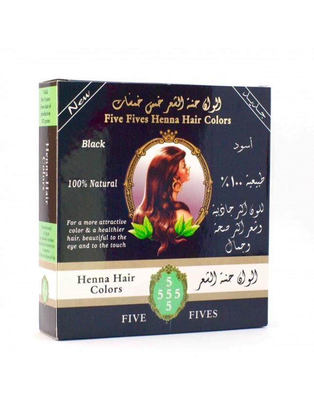 Henna Five Fives černá 100g