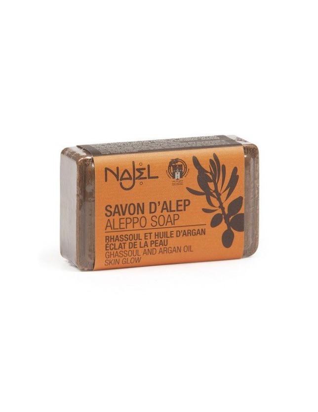 Mýdlo Aleppo Najel s rhassoulem a arganovým olejem