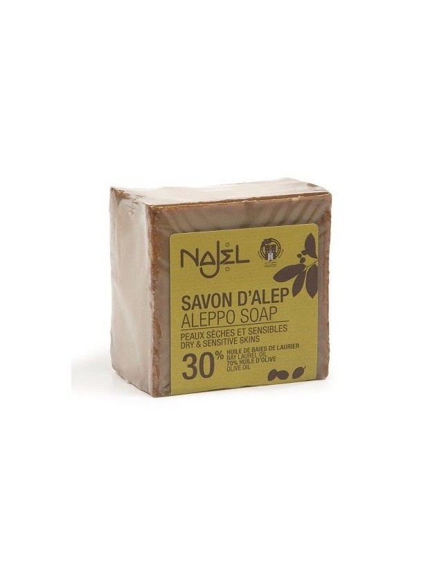 Mýdlo Aleppo Najel, 30% VO