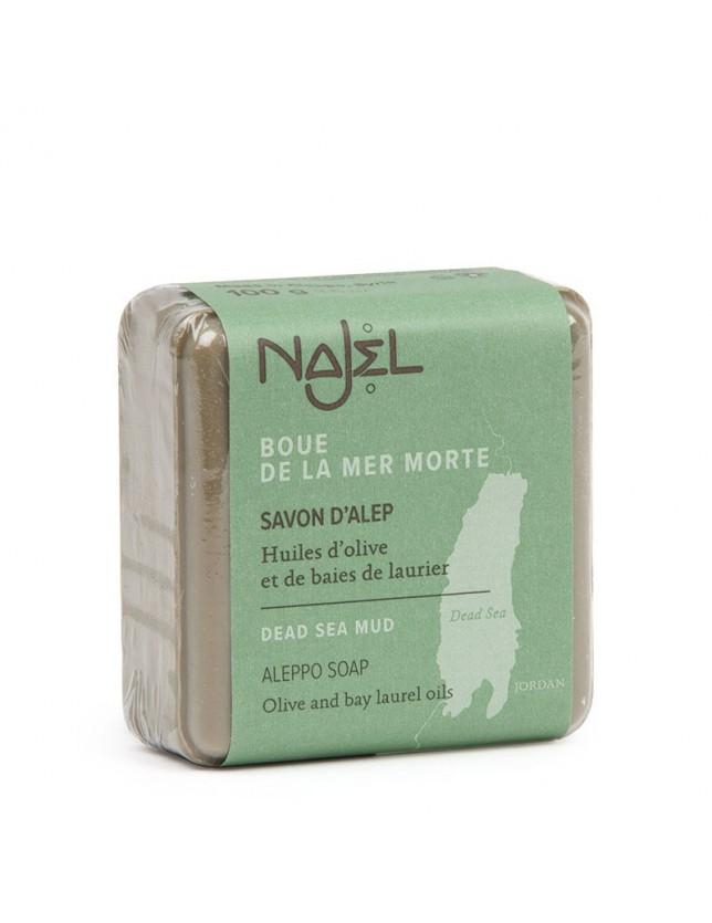 Mýdlo Aleppo Najel s bahnem z Mrtvého moře