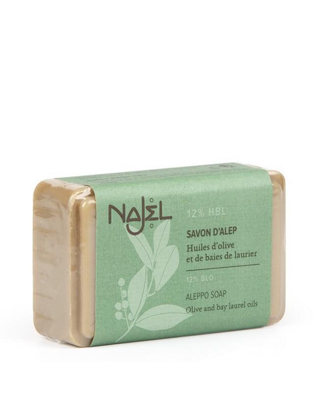 Mýdlo Aleppo Najel, 12% VO, 100g