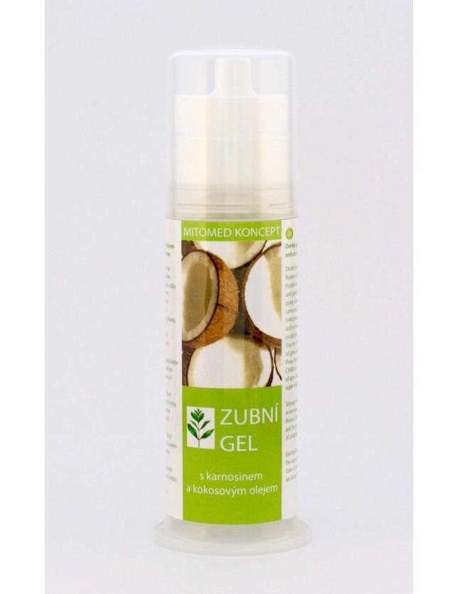 Zubní gel s karnosinem a kokosovým olejem