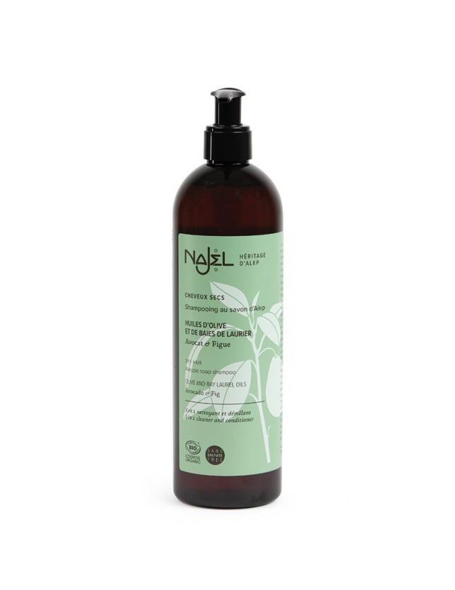 Šampon s aleppským mýdlem pro suché vlasy 2v1, BIO